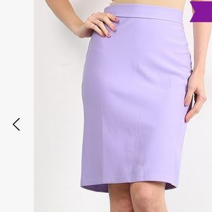 Bella Berry pencil skirt